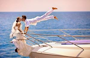 Свадебная фотосессия идеи на море